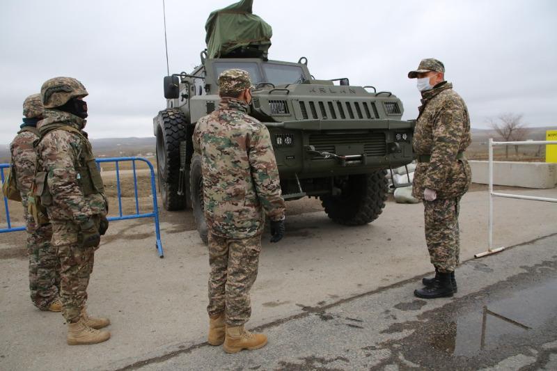 Как несут службу военные РгК «Запад» в условиях карантина