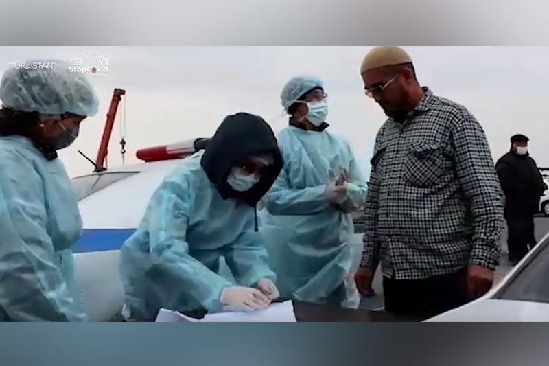 Челлендж «Абзал жандарға алғыс» запустили в Туркестанской области