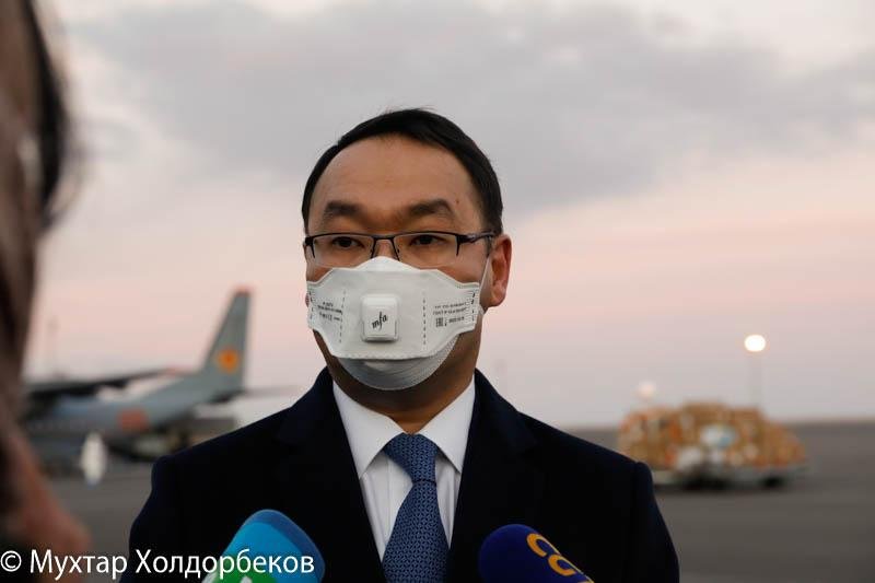 МИД РК - о прибывших китайских медиках: Приехали помогать