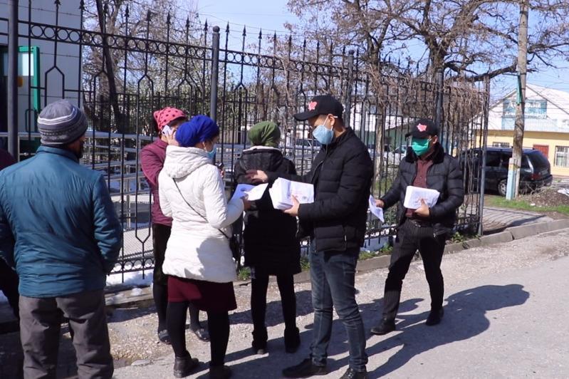 Volunteers of Turkestan region made 4000 medical masks
