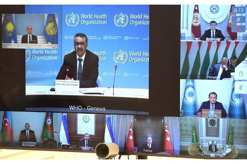 Президент Казахстана принял участие во внеочередном заседании ССТГ