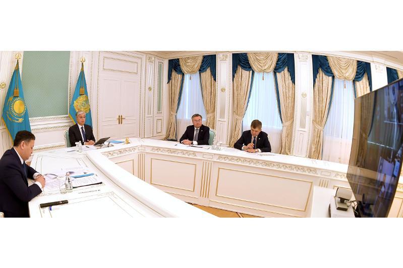 Касым-Жомарт Токаев призвал глав тюркоязычных государств объединиться для преодоления нынешнего глобального кризиса