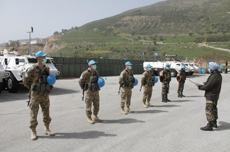 哈萨克斯坦驻黎巴嫩维和部队成员健康状态良好