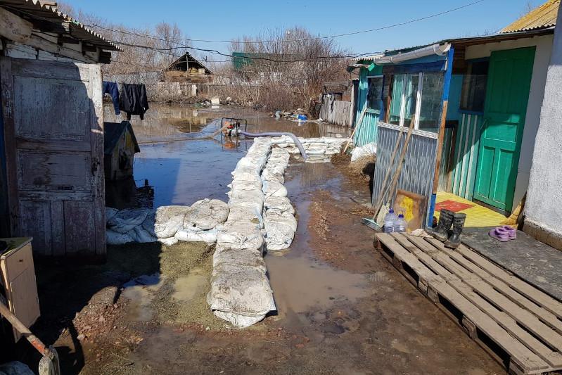 Угроза подтопления есть для сел и деревень Акмолинской области – КЧС