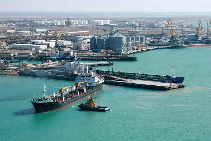 В режиме ЧП морские порты Казахстана работают в штатном режиме