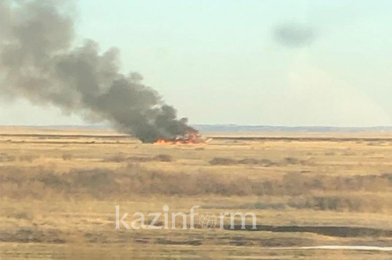 MiG-31 fighter jet crashed in Kazakhstan, pilots survived