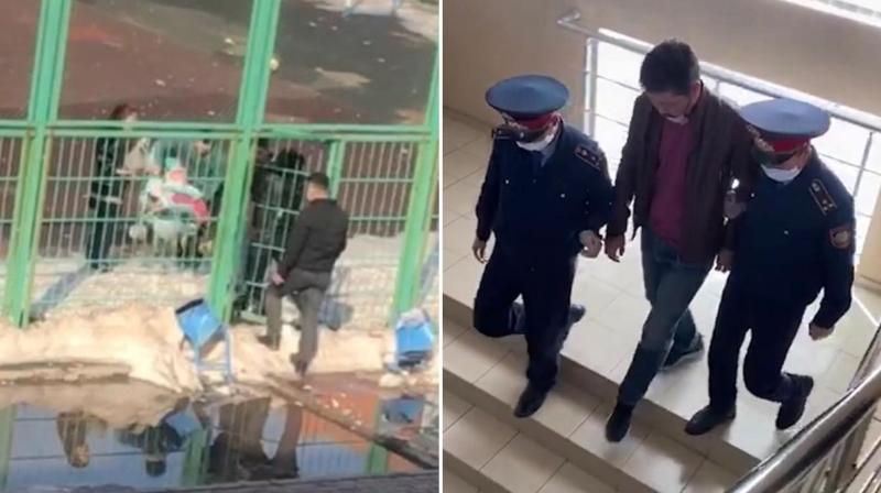 Житель Косшы задержан из-за конфликта с полицейским