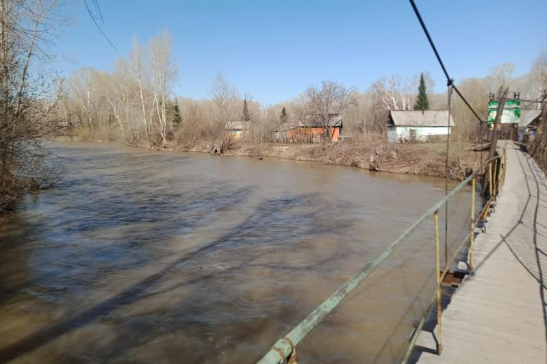 Подъем уровня воды в реке Ульба зафиксировали в Усть-Каменогорске