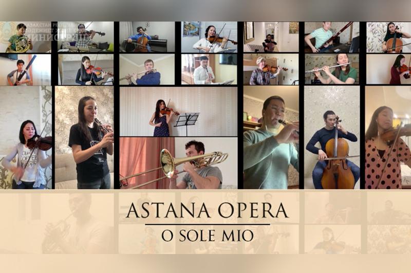 World stars take part in Astana Opera's creative project