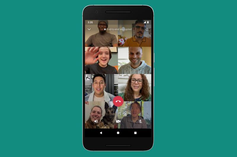 WhatsАpp видеосұхбатына енді сегіз адамға дейін қосыла алады