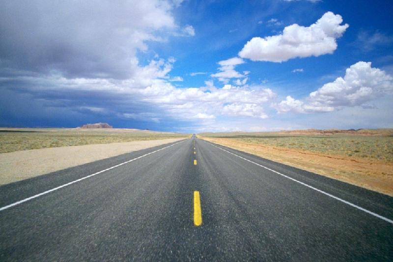 По новой дороге Караганда - Балхаш водители смогут ездить уже в этом году