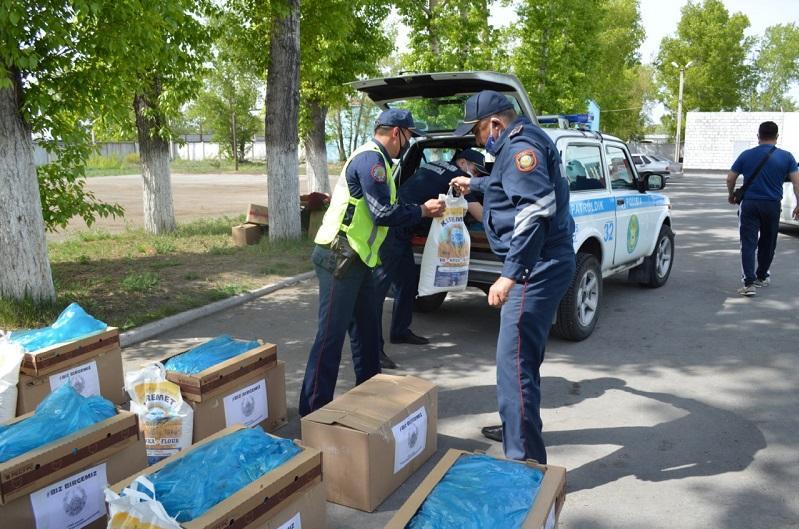 Біз біргеміз: Семейлік полицейлер 25 отбасыға көмек көрсетті