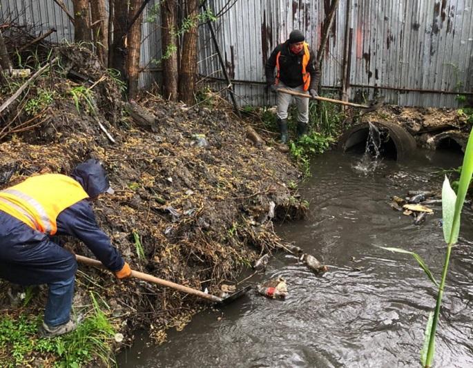 Как спасатели готовились к дождевым паводкам в Алматы