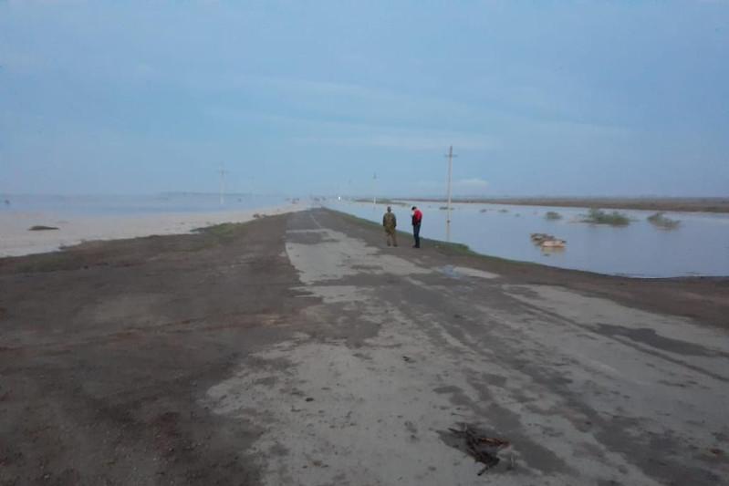 Разлив из коллектора произошел в Туркестанской области: подтоплены два населенных пункта