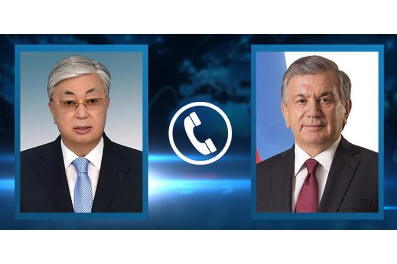 Касым-Жомарт Токаев и Шавкат Мирзиёев обсудили последствия прорыва дамбы в Узбекистане
