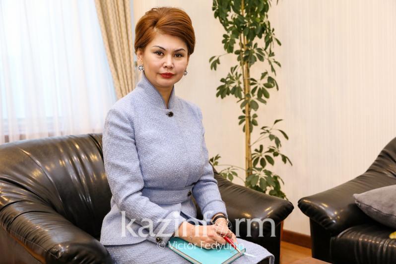 Аида  Балаева ҚР Президентінің көмекшісі қызметінен босатылды
