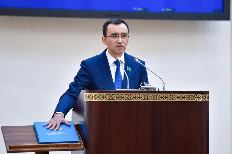 Маулен Ашимбаев ҚР Парламенти Сенати спикери этиб сайланди