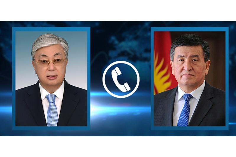 Kyrgyz leader thanks President Tokayev for humanitarian aid provided by Kazakhstan