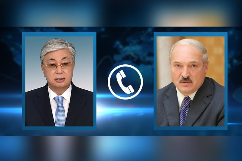 Қасым-Жомарт Тоқаев Александр Лукашенкомен телефон арқылы сөйлесті
