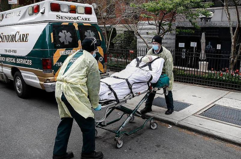 US COVID-19 Death Toll Exceeds 70,000 - Johns Hopkins University