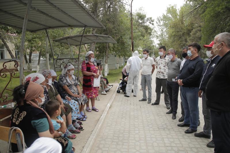 Журналисты Туркестанской области прибыли в Мактаарал для оказания помощи пострадавшим жителям