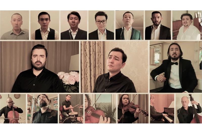 Қазақстандық әншілер халықаралық жобаға қатысып, «Тырналар» әнін шырқады