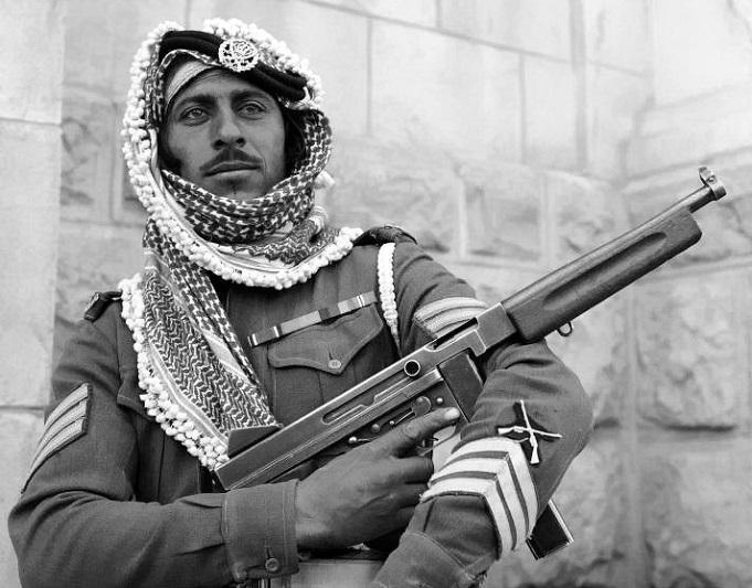 Иорданская армия принимала активное участие во Второй мировой войне