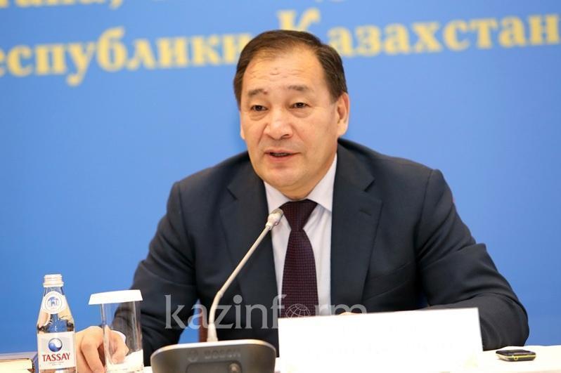 Ералы Тугжанов выступит 11 мая на брифинге о снятии режима ЧП