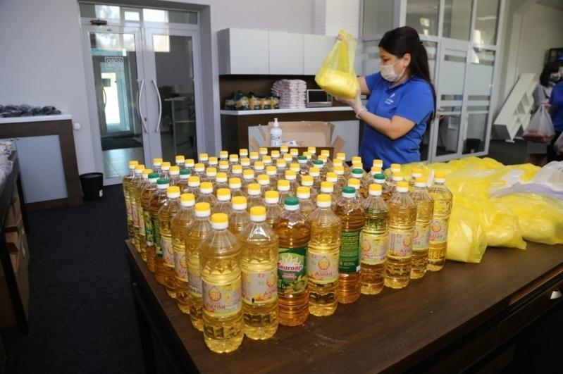 Қарағанды еріктілері 13 мыңнан астам отбасына азық-түлік пен гигиена құралдарын таратты
