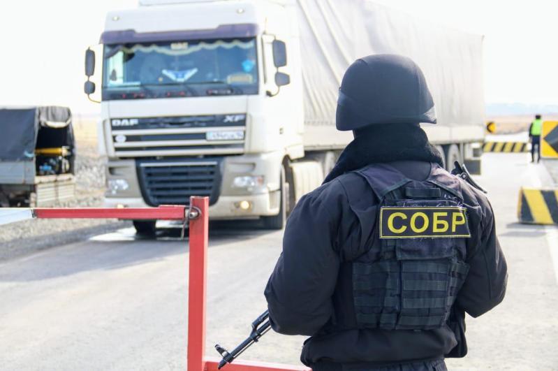 Полицейских на блокпостах учат справляться со стрессом в Павлодарской области