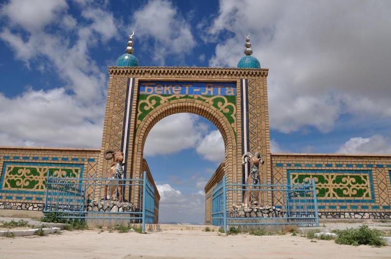 """曼格斯套州完成联通""""别克特阿塔""""地下清真寺的道路工程建设"""