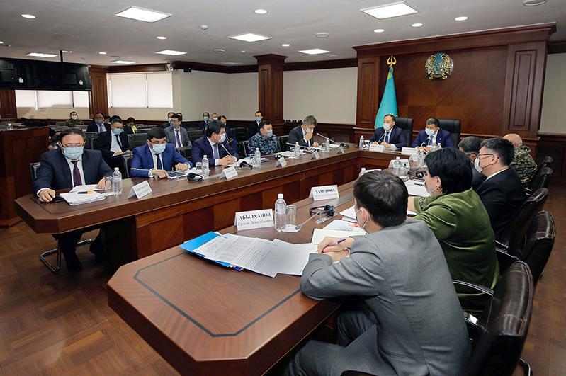 Ералы Тугжанов дал ряд поручений по стабилизации эпидемиологической ситуации в Атырауской области