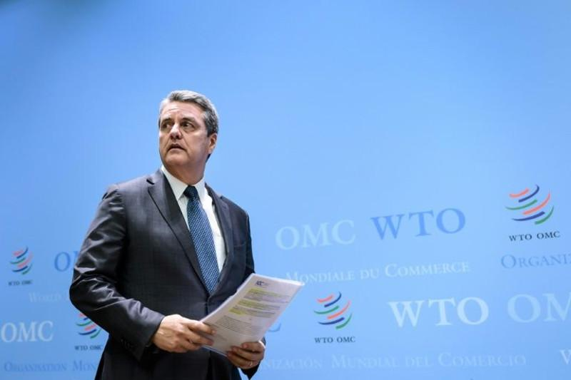 Head of World Trade Organization to step down early