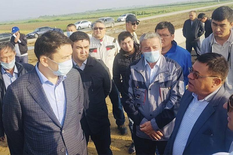 Ecology Minister inspects water bodies in Turkestan region