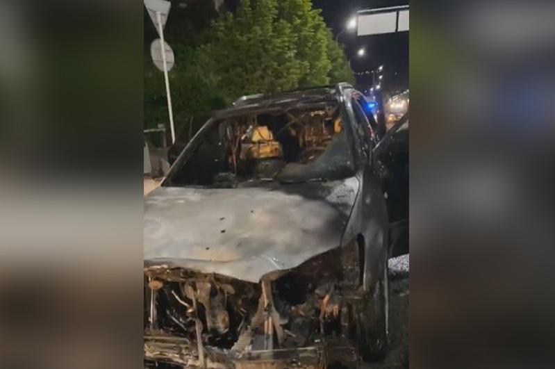 Полиция адвокат Айман Омарованың көлігінің өртенуіне қатысты тексеру жүргізіп жатыр