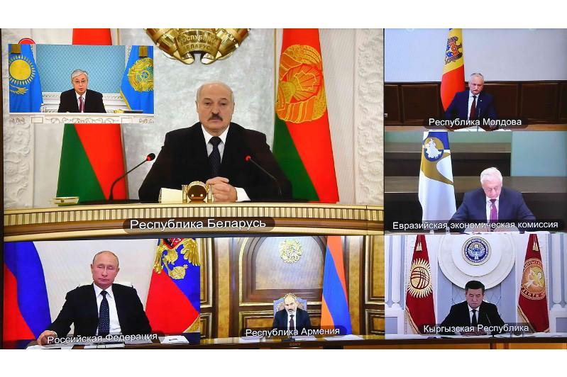 Қасым-Жомарт Тоқаев Жоғары Еуразиялық экономикалық кеңестің отырысына қатысты