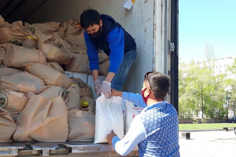 KustoHelp қайырымдылық жобасы: Ақмола облысында 3 000 отбасыға көмек көрсетілді