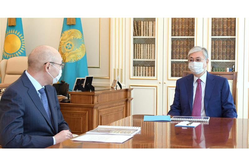 President Tokayev receives AIFC Governor