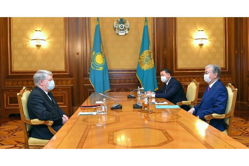 ҚР Президенти Россиянинг Қозоғистондаги элчисини қабул қилди