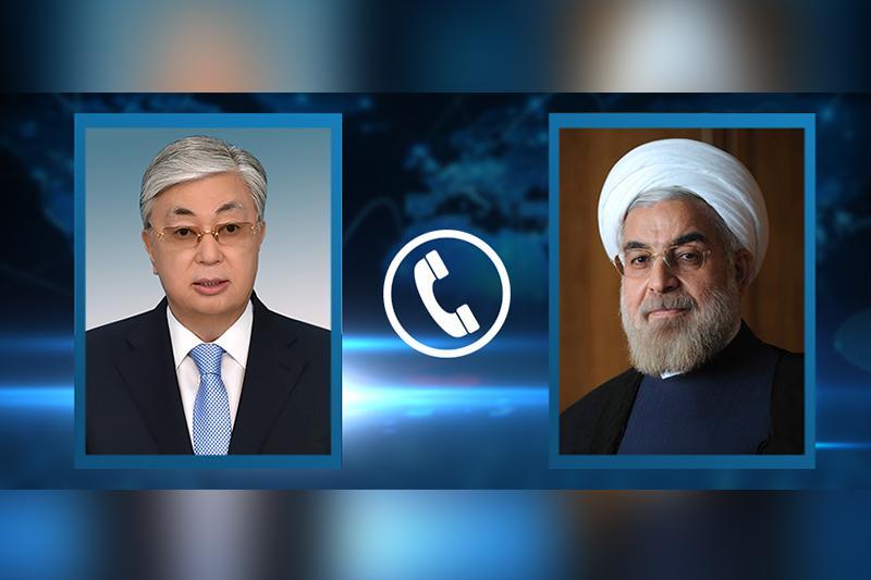 Қасым-Жомарт Тоқаев Иран Президентімен телефон арқылы сөйлесті