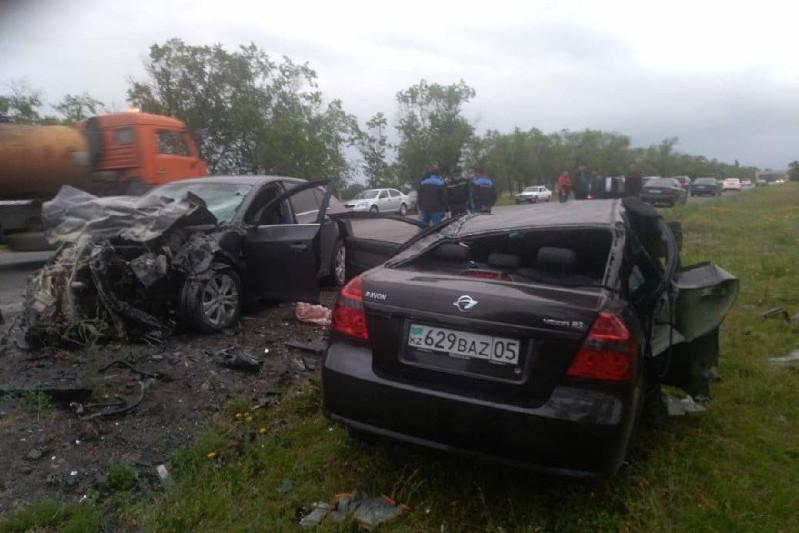 Алматы облысында көлік апатынан төрт адам мерт болды