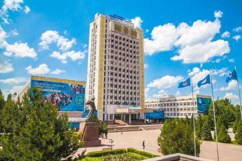 """阿尔法拉比大学举办""""联合国模式-新丝绸之路""""国际在线研讨会"""