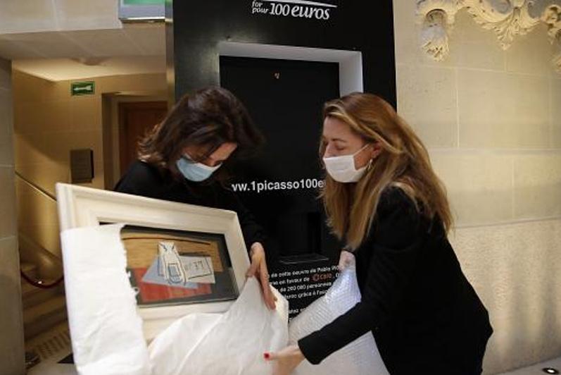 Италиялық әйел лотереядан Пабло Пикассоның картинасын ұтып алды