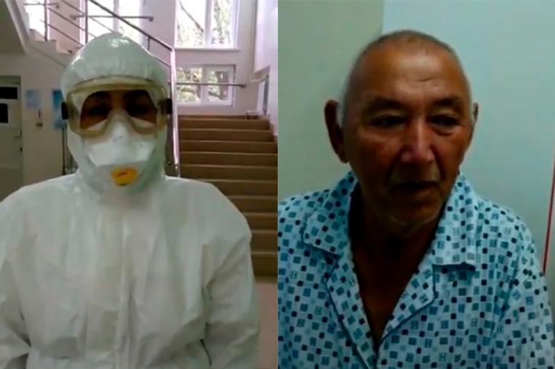 Түркістан облысында коронавирус жұқтырған науқастар халыққа үндеу жолдады