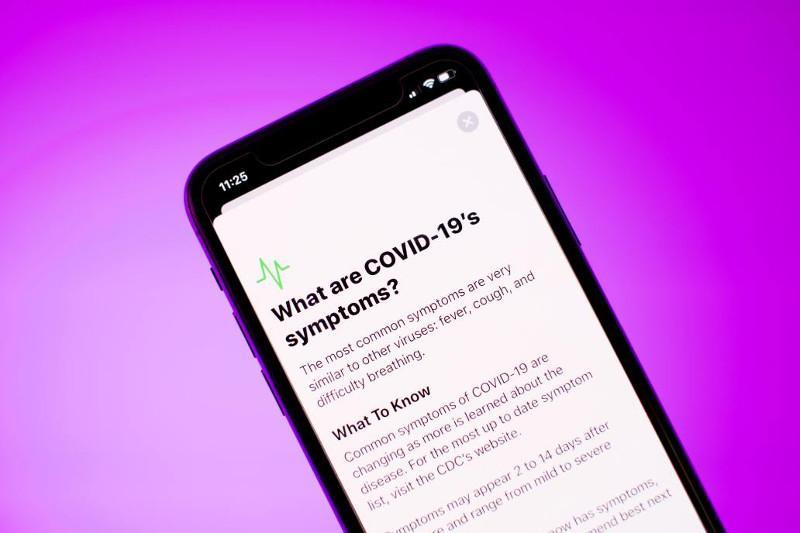 Apple ва Google COVID-19 беморларини кузатадиган илова ишга туширди