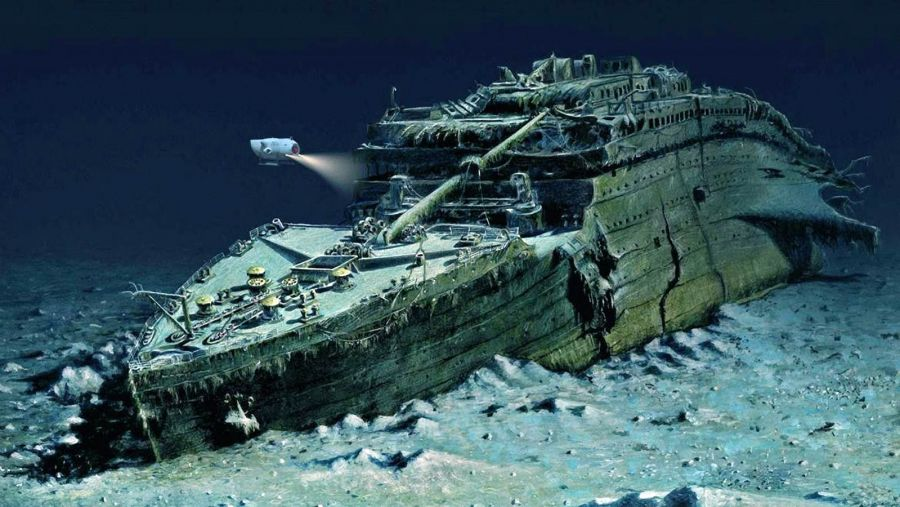 ا ق ش سوتى العاش رەت تيتانيك كورپۋسىن اشۋعا رۇقسات بەردى