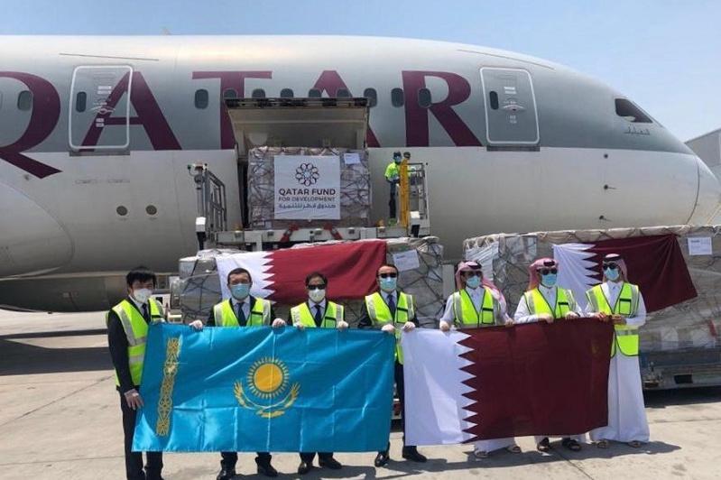 Эмир Катара отправил гуманитарную медпомощь Казахстану