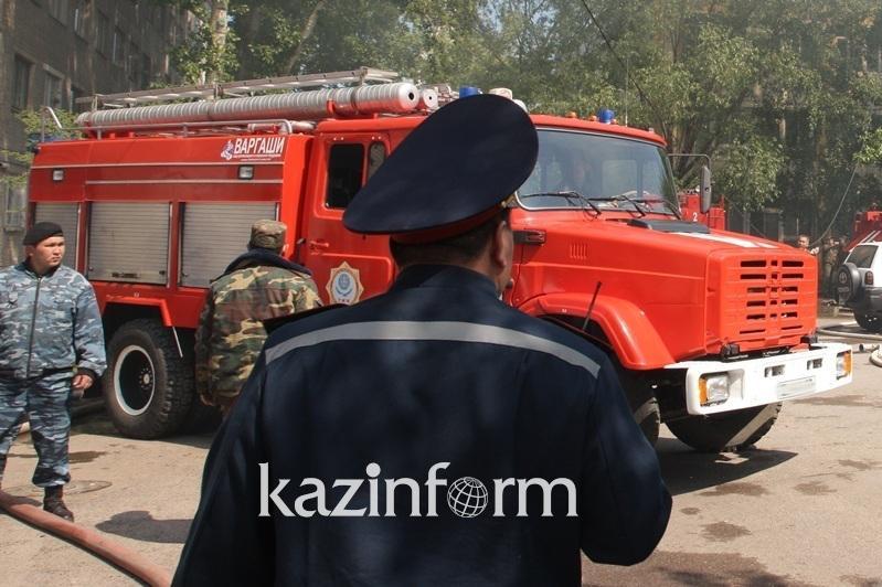 В пожаре погиб 62-летний житель Акмолинской области