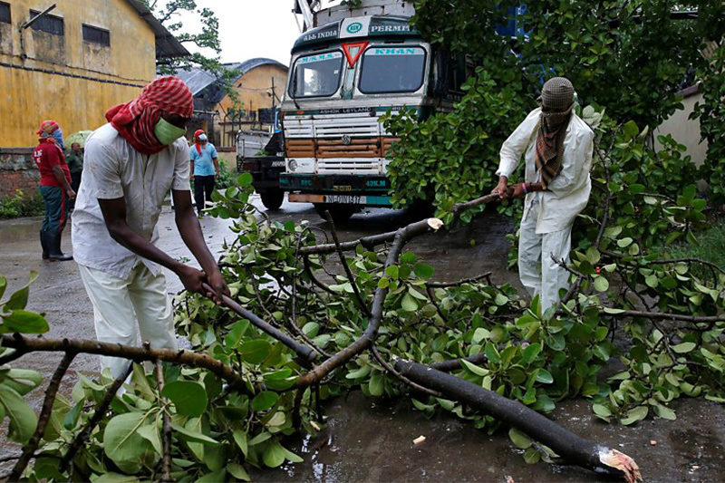 Амфан циклоны: Үндістан мен Бангладеште 84 адам қаза тапты