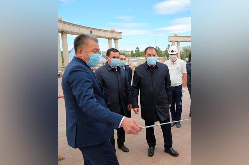 Жошы хан тарихи-мәдени орталығының құрылысына «Еңбек» бағдарламасының жұмысшылары тартылады